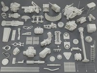 Kit bash(53 pieces) - collection-13