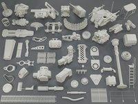 kit bashes - 53 3D
