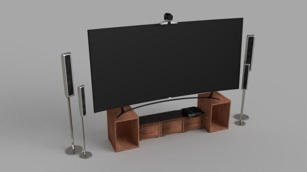 3D model home set