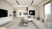 Corona Cinema4D Scene files - Living Room 2
