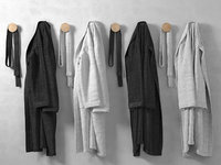 3D hanging bathrobe 2
