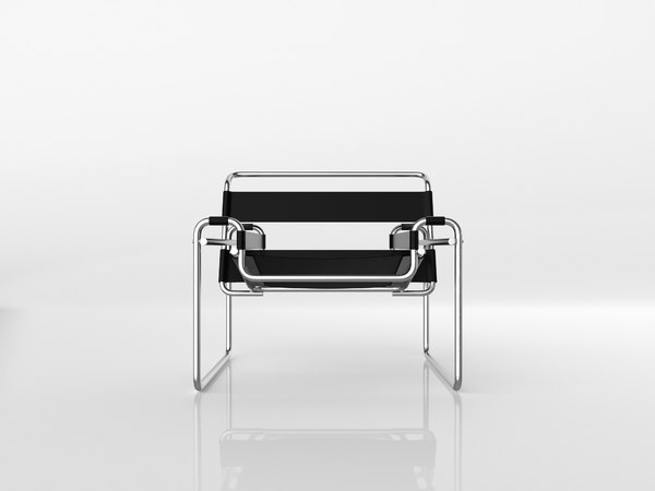 3D classic wassily chair model