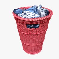 clothes basket 3D