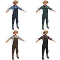 3D pack farmer
