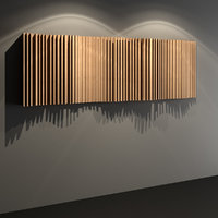 Wave Diffuser - Acoustic Studio Wall Panel
