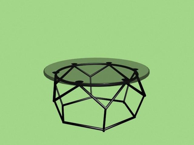cofee table 3D model