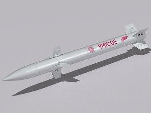 3D 9m100 missile