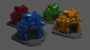 diamond cave 3D model