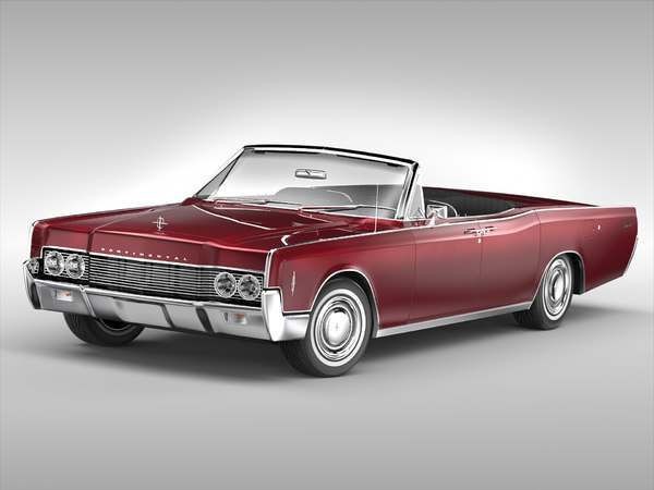 3D continental convertible 1966 model