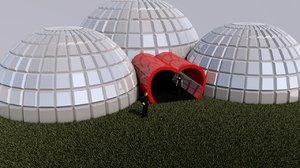 arena expo exhibit heart 3D model