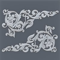 Baroque element 002