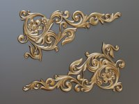 Baroque element 002