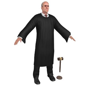 court judge model