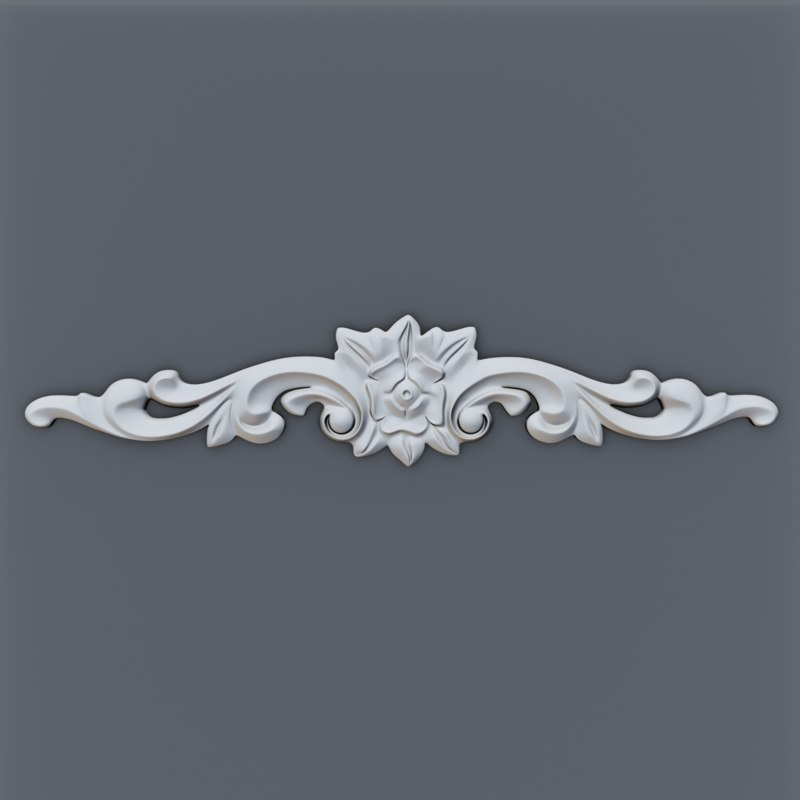 decor molding interior model