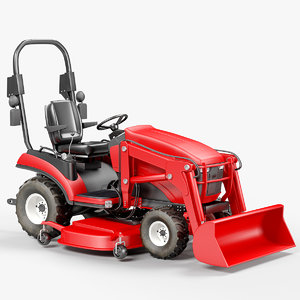 3D sub-compact utility tractor