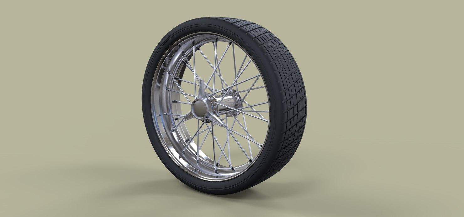 wheel spokes 3D model
