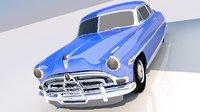 Hudson Hornet 1952 with interior