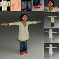 rupam character 3D