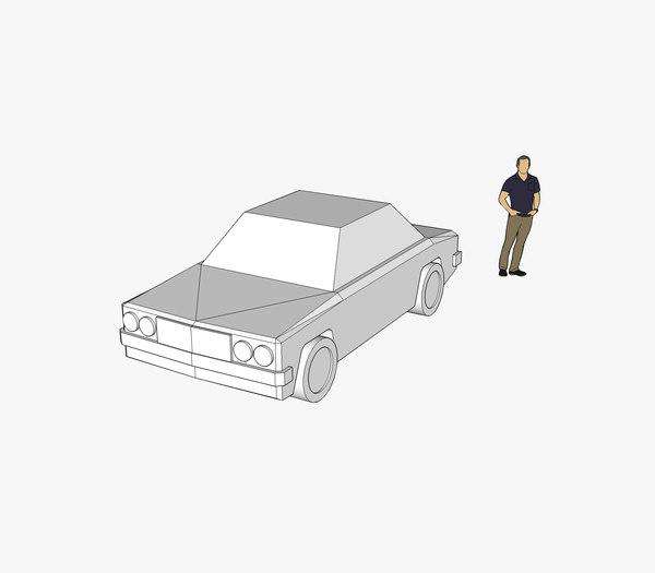 car skp 3D model