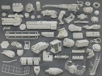 3D kit bashes - 53 model