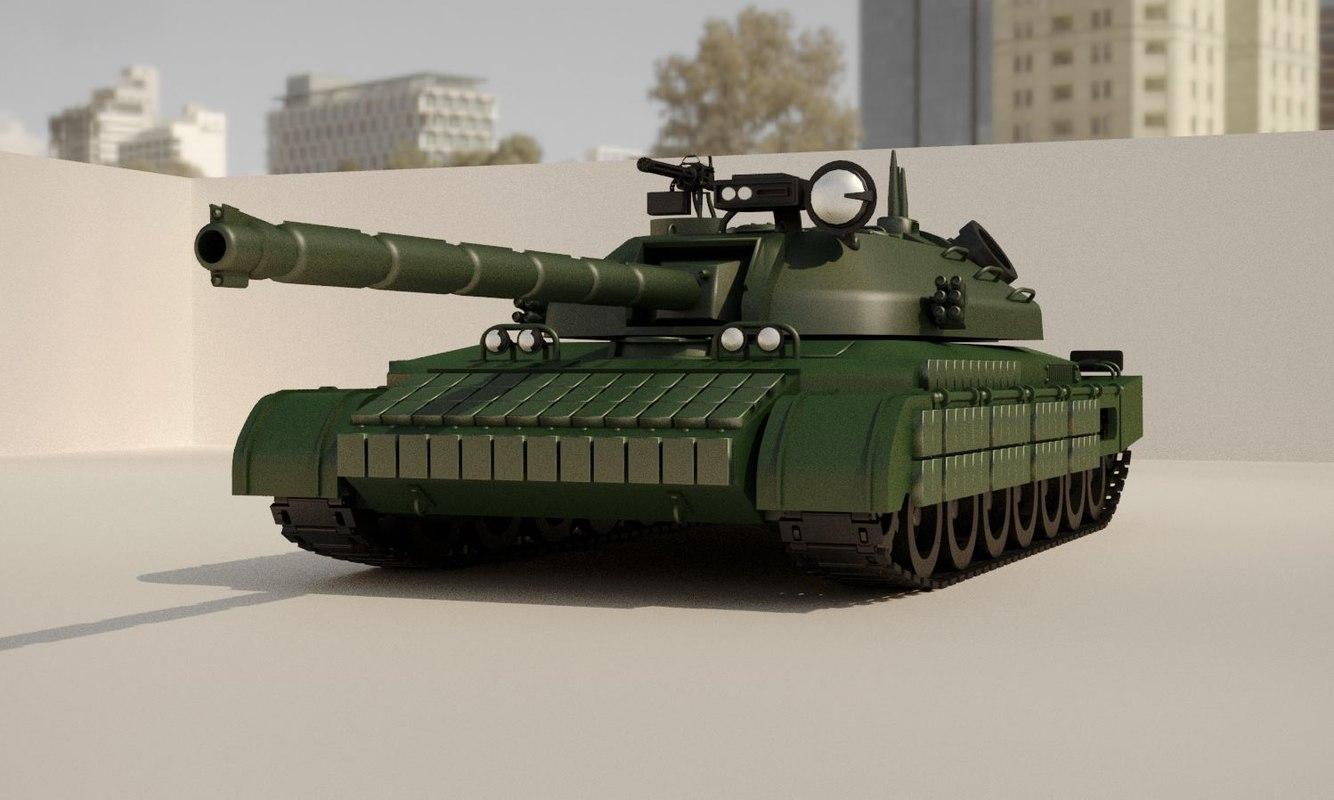 havy tank 3D