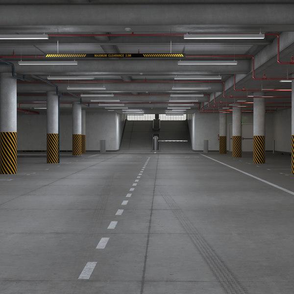 real garage parking 3D
