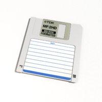 floppy disk 1 44mb 3D model