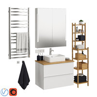 3D model set ikea godmorgon