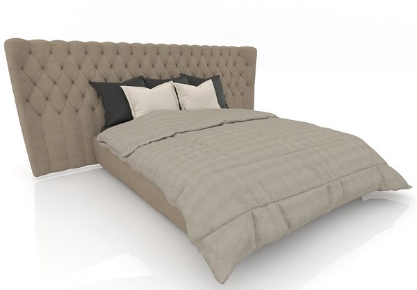 bed furniture 3D