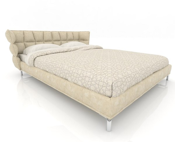bed furniture 3D model
