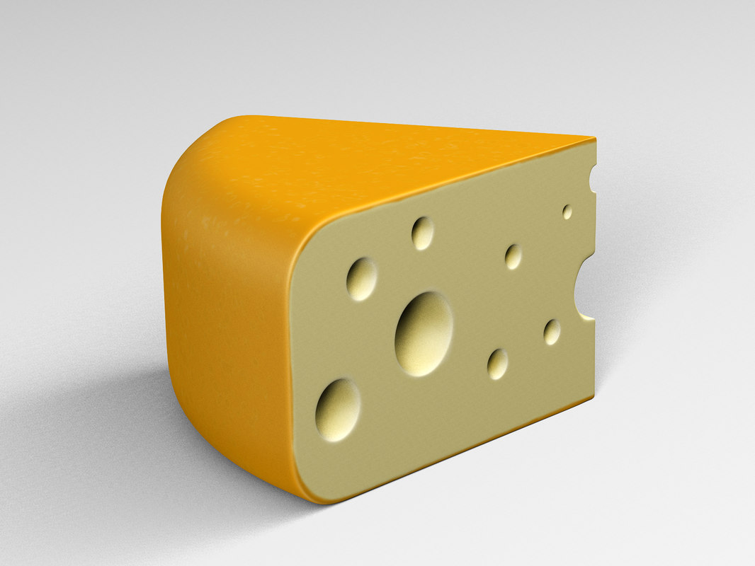 cheese yellow 3D model