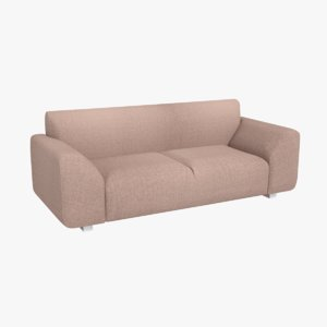 3D model sofa architectural living