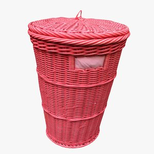 clothes basket 3D model