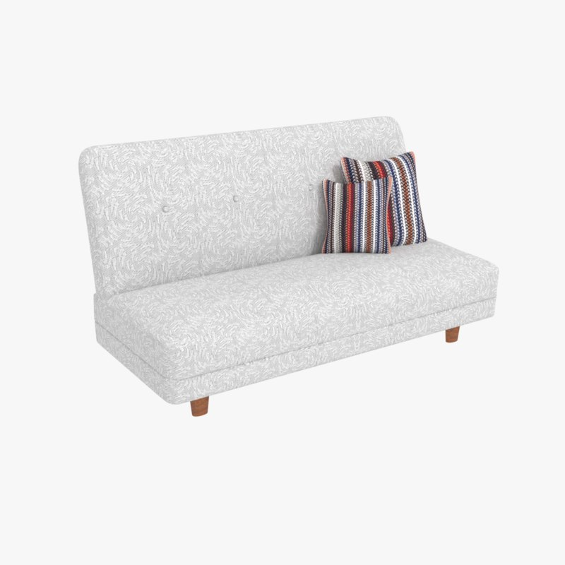 sofa architectural living model