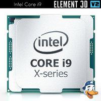 intel core i9 element 3D