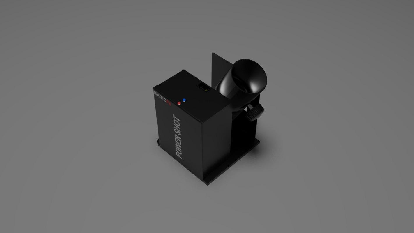 3D model magicfx power shot