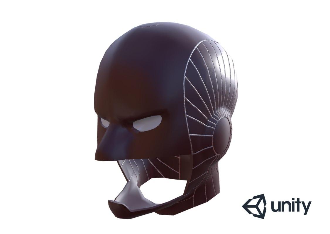 3D captain marvel helmet