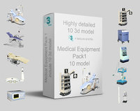 medical equipment pack 1 3D