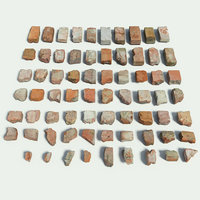 brick set fotogrammetry 3D model