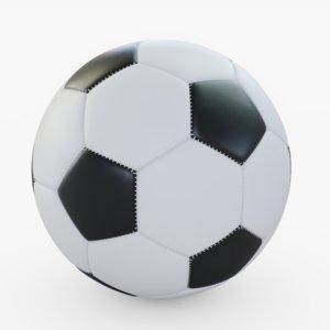 soccer animation 3D model