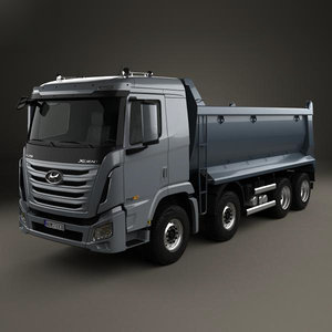 hyundai p540 p 3D model