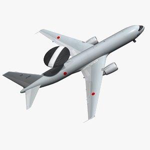 awacs e767 3D model