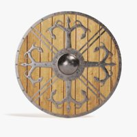 3D viking shield 4