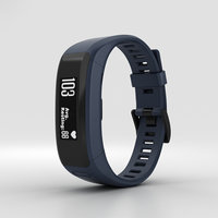 garmin vivosmart vivo 3D model
