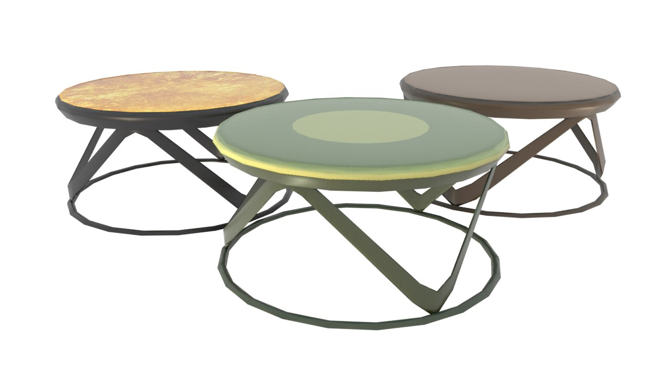 3D table design