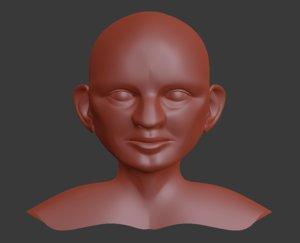 base mesh gnome model