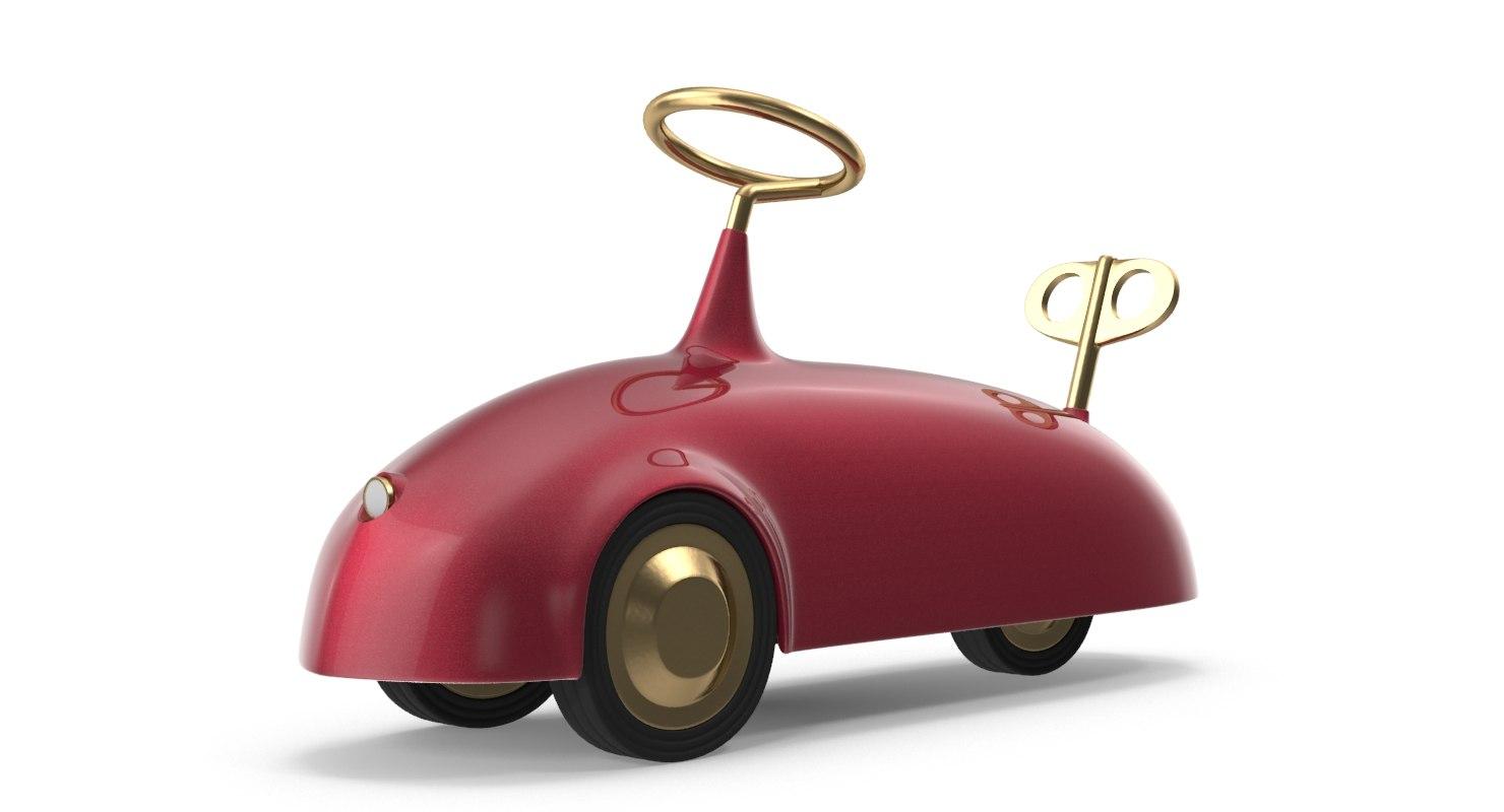 3D toy car nika zupanc model