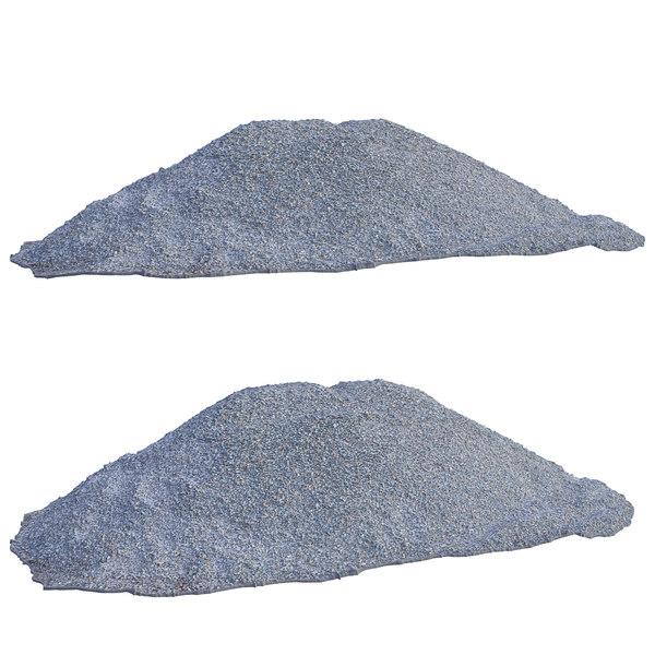 ultra realistic gravel scan model