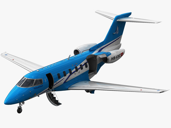 3D pilatus pc-24 pc model