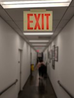 exit sign model